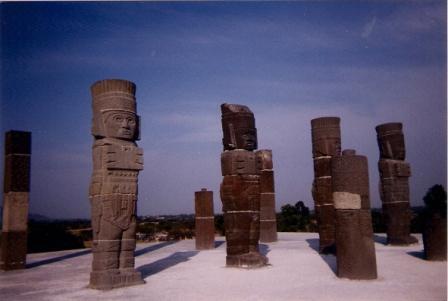 Statues Mexique